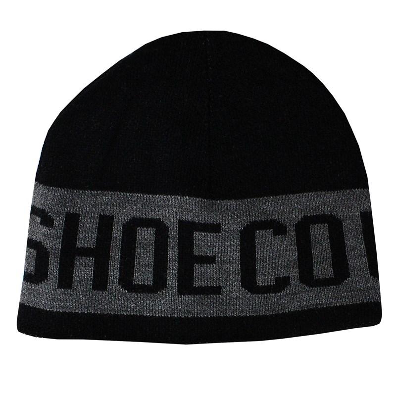 Gorro DC Shoes Bromont Dupla Face Preto e Cinza