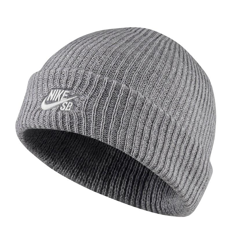 Gorro Nike SB Fisherman Dark Grey Heather White