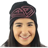 Gorro Roxy Arise Dupla Face True Black