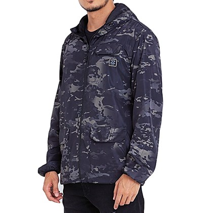 Jaqueta Windbreak Billabong Bunker Adventure Division Camo
