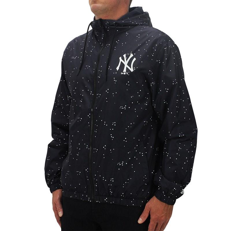 Jaqueta Corta Vento New Era MLB New York Yankees Rave Space Glow