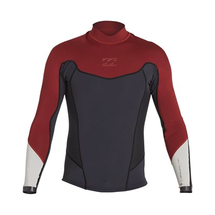 Jaqueta de Neoprene Billabong 2/2 Absolute Biking Red