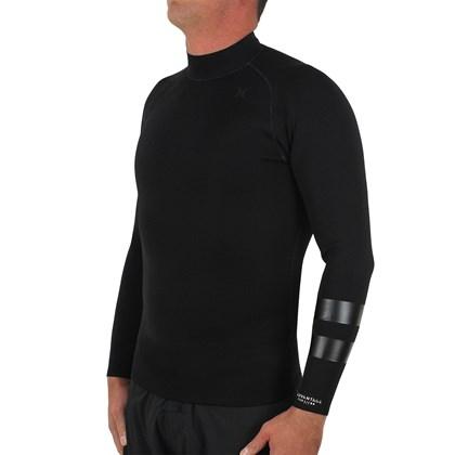 Jaqueta de Neoprene Hurley Advantage Plus 1mm Reversible Black