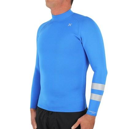 Jaqueta de Neoprene Hurley Advantage Plus 1mm Reversible Blue