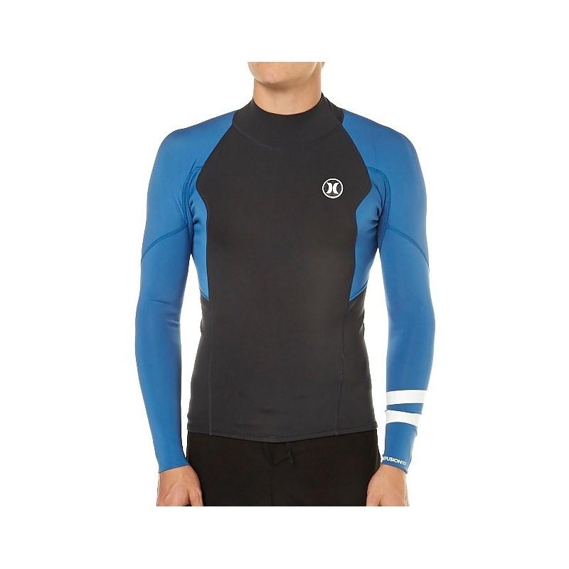 Jaqueta de Neoprene Hurley Fusion 101 Azul - SurfAlive 242e92bee6c