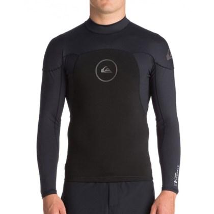 Jaqueta de Neoprene Quiksilver Neo Shirt 1mm Syncro Series Black