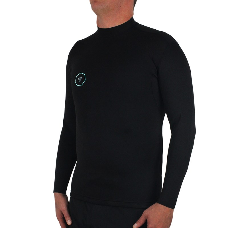 Jaqueta de Neoprene Vissla Performance Reverse 1mm Black