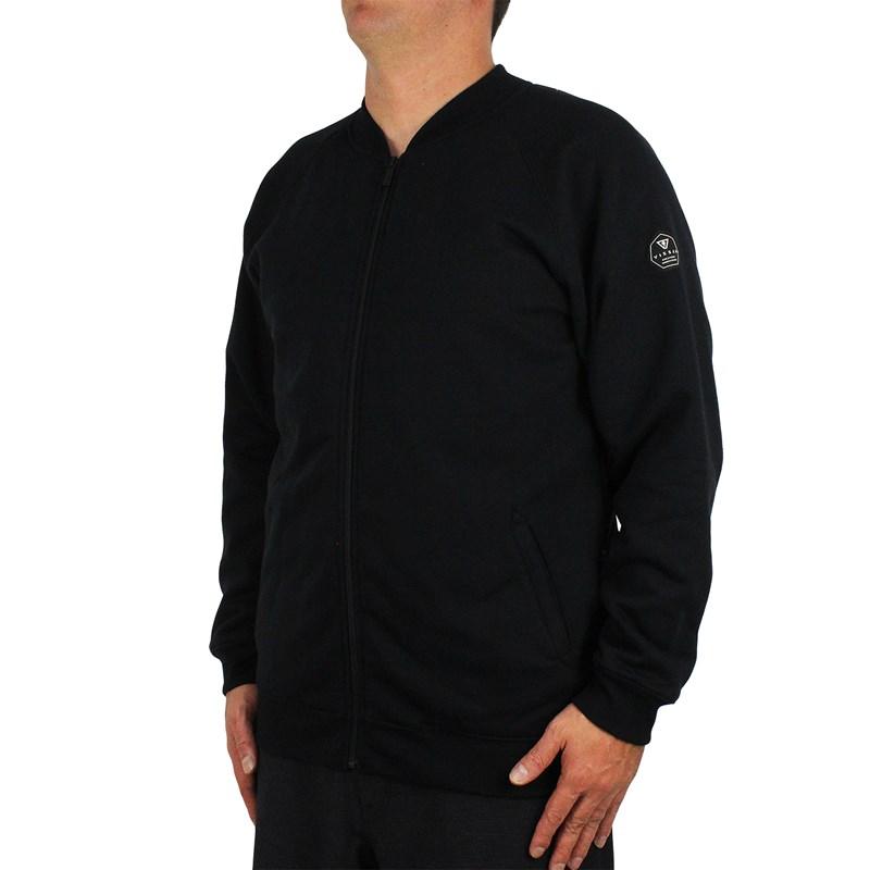 Jaqueta Vissla Bomber Fleece Black