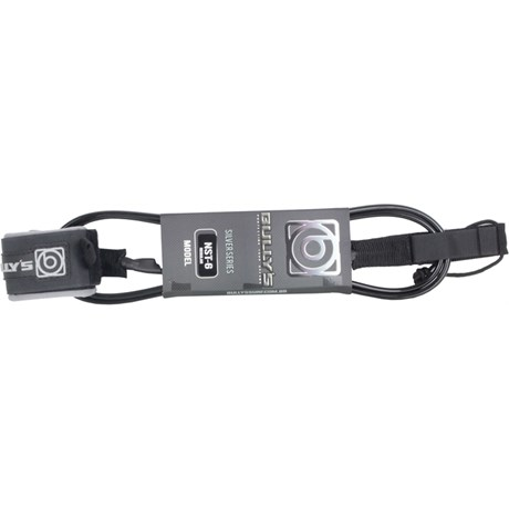 LEASH BULLY'S 6X6 SILVER SERIES REGULAR PRETO E PRATA