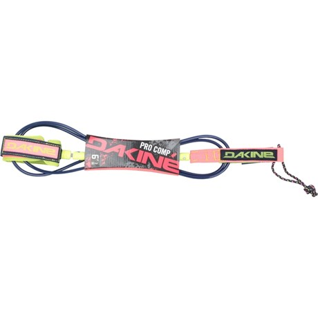 Leash Dakine Pro Comp 6x3/16 Citron Navy