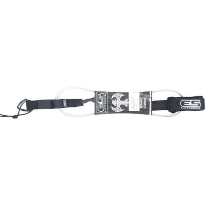 "Leash Elite Surfing 6""x5mm Super Comp Nó Transparente"
