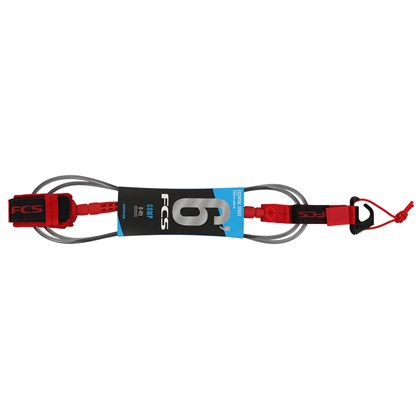 Leash FCS 6 x 5.5 Competition Black Cristal Red