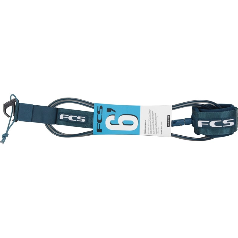 LEASH FCS 6 X 7 MM REGULAR TRANSPARENTE E PETRÓLEO