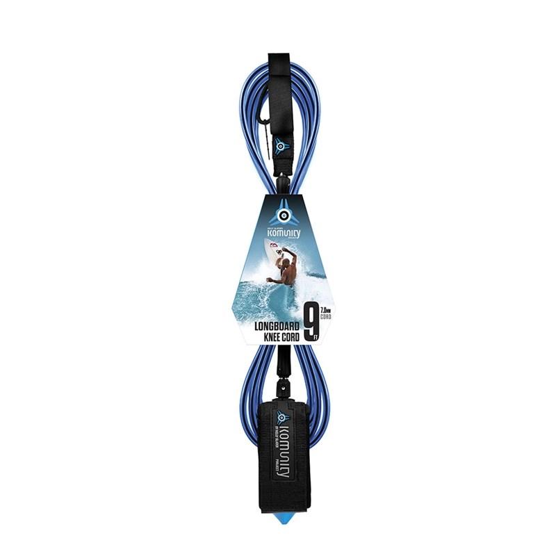 Leash Komunity Project 9 X 7 Longboard Knee Cord Azul