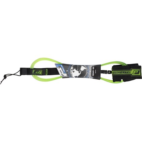 LEASH PRO LITE 6 X 7 MM FREESURF MDS VERDE TRANSPARENTE