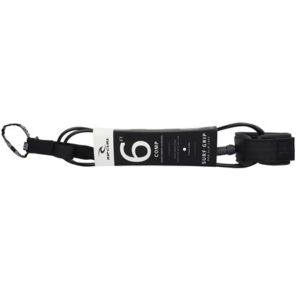Leash Rip Curl 6 X 5mm Comp Preto