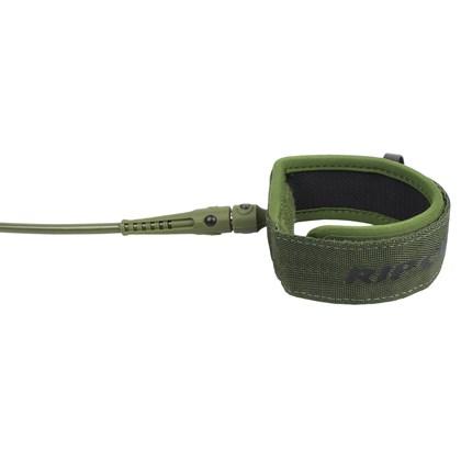 Leash Rip Curl Surf Grip 6 X 5mm Comp Olive