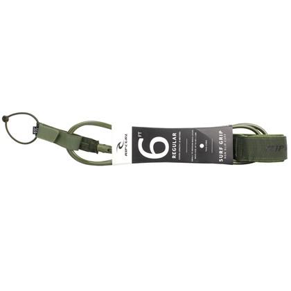 Leash Rip Curl Surf Grip 6 X 7mm Regular Olive