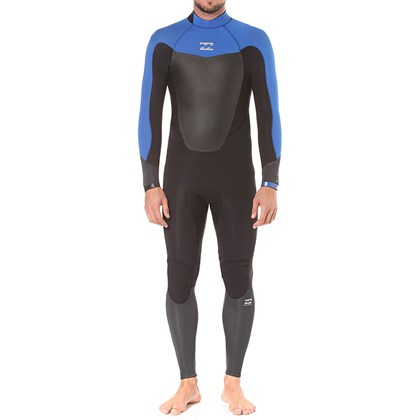 Long John Billabong 302 Absolute Comp Back Zip Black Ocean