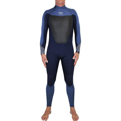 Long John Billabong 302 Absolute Comp Back Zip Cascade Blue
