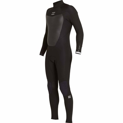 Long John Billabong 302 Absolute Comp Back Zip Full Black