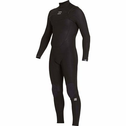 Long John Billabong 302 Absolute Comp Chest Zip Full Black