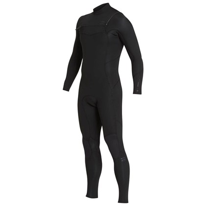 Long John Billabong Absolute 2/2 Chest Zip Black