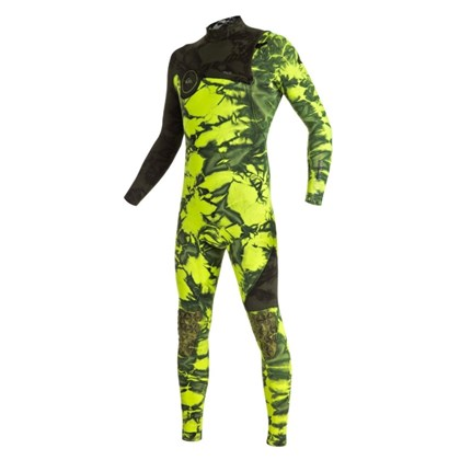 Long John Quiksilver Highline Zipperless 3/2mm Green Flash
