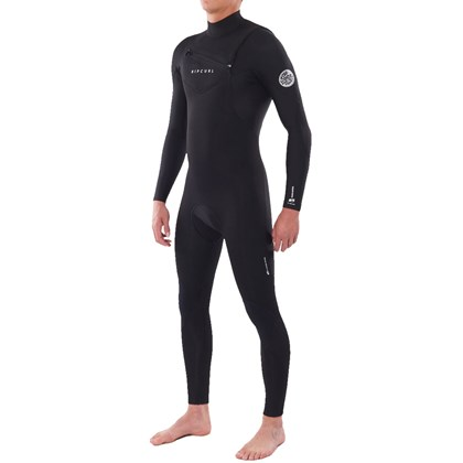 Long John Rip Curl Dawn Patrol 4/3mm Chest Zip Black