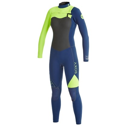 Long John Roxy AG47 Performance 3/2mm Chest Zip Navy