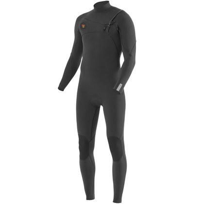 Long John Vissla Seven Seas 3/2 Chest Zip Charcoal 2