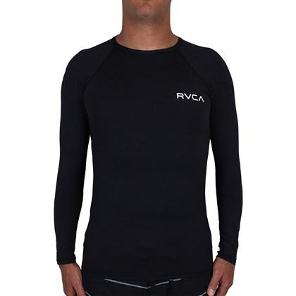 Lycra RVCA Solid Manga Longa Preta