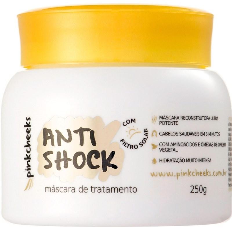 Máscara De Tratamento Pink Cheeks Anti Shock