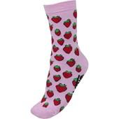Meia Vans Carmine Crew Strawberries Pastel Lavander