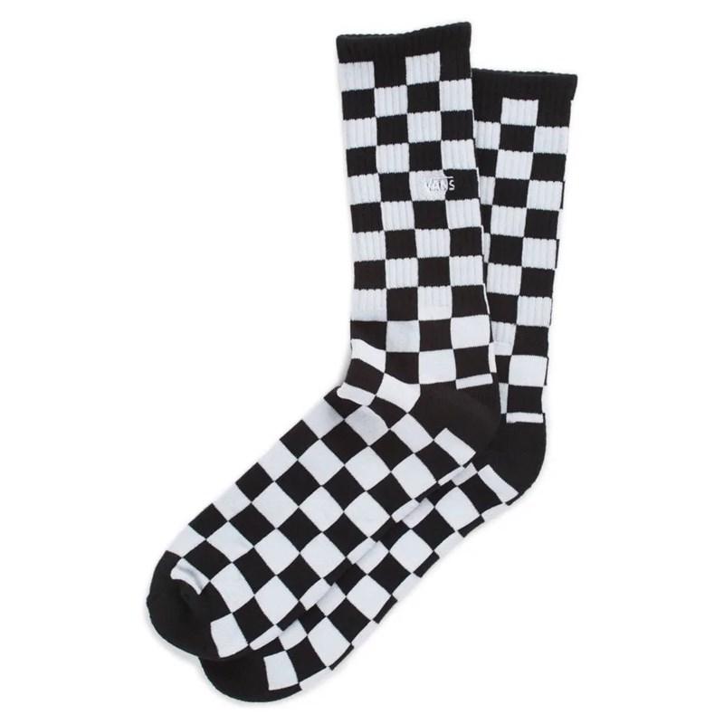 Meia Vans Checkerboard Crew Black White - Surf Alive 11210453297