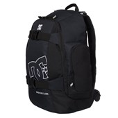 Mochila DC Shoes Wolfbred Stakepack Importada Preta