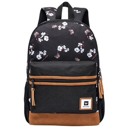 Mochila Hang Loose Garden Black Brown
