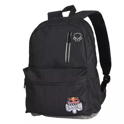 Mochila Red Bull Skate Generation Usher Black Grey