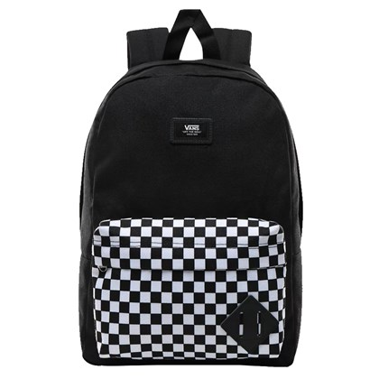Mochila Vans Infantil New Skool Black Checkerboard