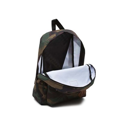 Mochila Vans Old Skool 2 Peace Leaf Camo