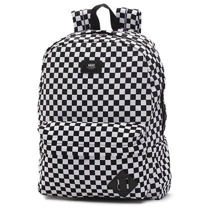 Mochila Vans Old Skool II Black White Check