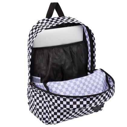 Mochila Vans Old Skool III Black White Checkerboard