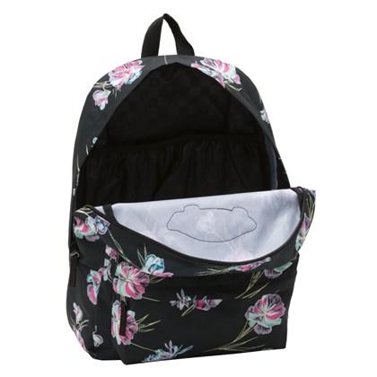 Mochila Vans Realm Backpack Black Paradise