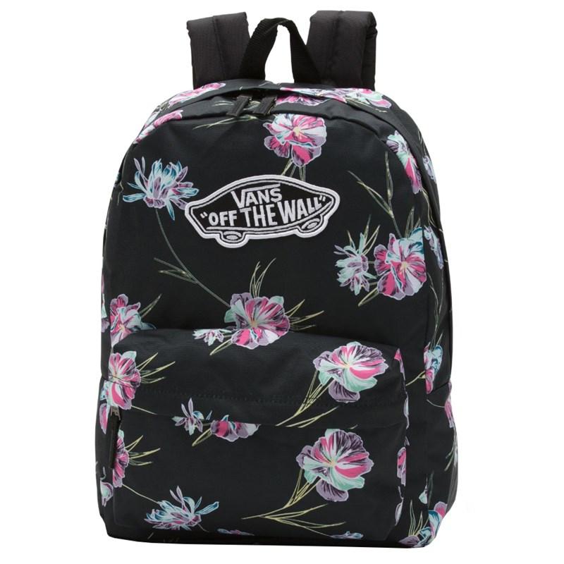9ecb9cdd8 Mochila Vans Realm Backpack Black Paradise - Surf Alive'