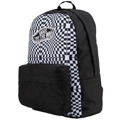 Mochila Vans Realm Backpack Black Warp Check