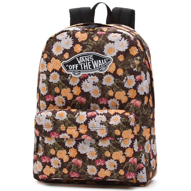 Mochila Vans Realm Backpack Demitasse Abstract Floral