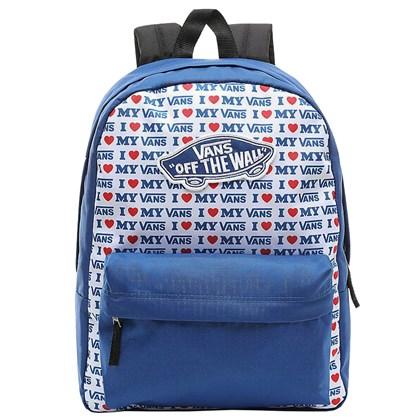 Mochila Vans Realm Backpack True Blue Vans