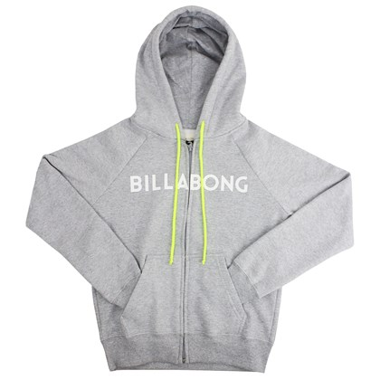 Moletom Billabong Cali Fit Cinza Mescla