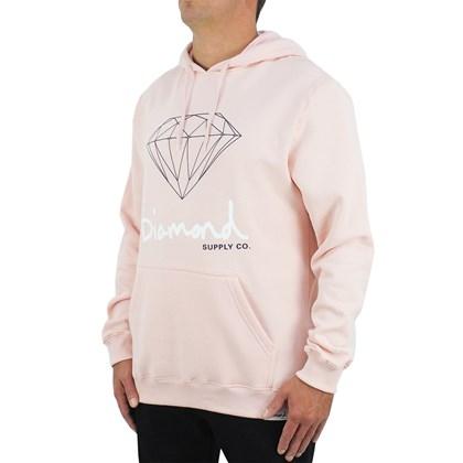 Moletom Diamond OG Sign Hoodie Pink