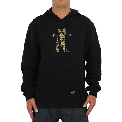 Moletom Grizzly Gold Leaf Bear Hoddie Black